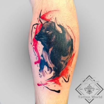 Tattoo Stier