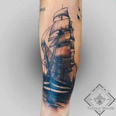 Tattoo Schiff