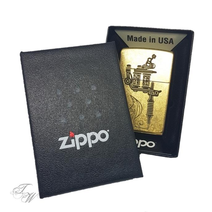 zippo box tattoo world